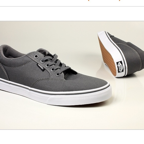 Gray Vans Off The Wall Sneakers Mens